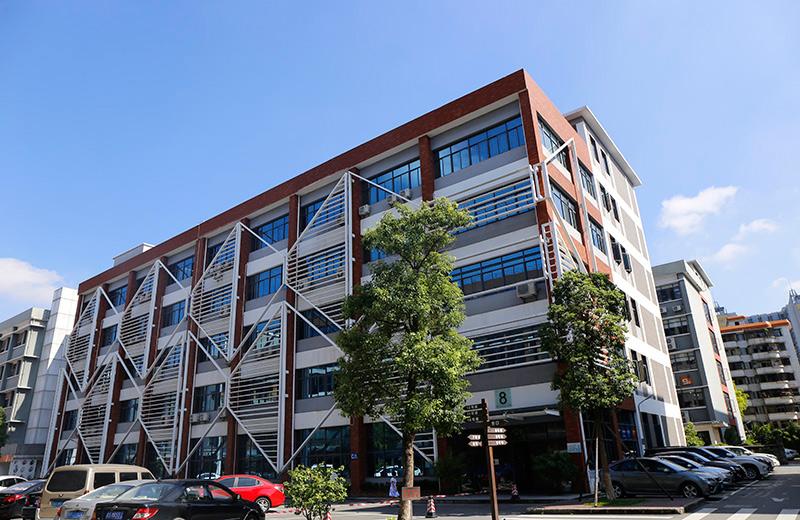 公司所在的办公楼